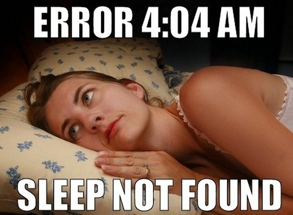 Sunday Night Sleep Problems By Onlineclock