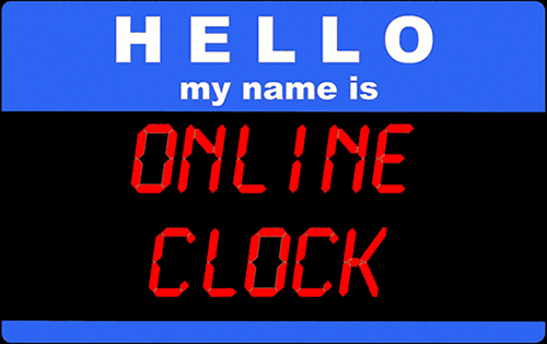 Hello, My name is Online Clock